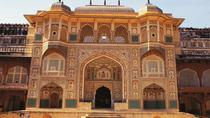 Private Full-Day Tour of Amber Fort and Royal Gaitor Including a Hike to Galtaji Temple, Jaipur, ...