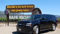 Private 8 Hour Napa Valley Wine Tour, Napa & Sonoma, Wine Tasting & Winery Tours