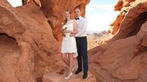 Wild Horse Canyon Wedding with Luxury Transportation and Photographer, Las Vegas, Wedding Packages