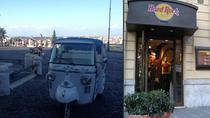 Private Tour: Rome by Ape Bio Car and Hard Rock Aperitivo, Rome, Vespa Rentals