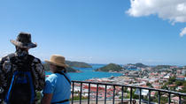 Blackbeard's Castle, Skytsborg Tower and Downtown Walking Tour, St Thomas