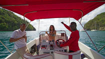 Private Speedboat Cruise and Snorkel Tour in St Lucia, St Lucia, Lunch Cruises