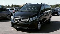 Airport Limousine Transfer: Stockholm City to Bromma Airport 1-7 Passengers