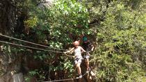 3 Hour Sportive Session of Via Ferrata-Tyrotrekking in Corsica, Corsica, Obstacle Courses