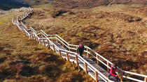 Full-Day Cuilcagh Legnabrocky Trail and Stairway to Heaven Hike and Marble Arch Caves tour, Dublin, ...