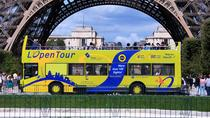 Circuit en bus à arrêts multiples via L'Open Tour, Paris