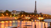 Eiffel Tower Dinner and Seine River Cruise by Minivan, Paris, Private Sightseeing Tours