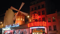 Seine River Cruise and Moulin Rouge Show with a Glass of Champagne, Paris, Nightlife