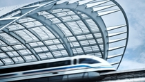 Transfert aller-retour en train à grande vitesse Maglev : aéroport international de ...
