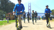 Elektrisk Scooter Tour till Golden Gate Bridge från Wharf, San Francisco, Vespa, Scooter & Moped Tours