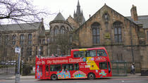 City Sightseeing hop-on hop-off tour door Glasgow, Glasgow