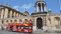 City Sightseeing hop-on hop-off tour door Oxford, Oxford