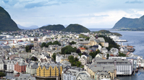 Landausflug in Alesund: Hop-on-Hop-off-Stadtrundfahrt, Alesund, Ports of Call Tours