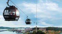 Singapore Sentosa Island Tour with Cable Car Ride and Wings of Time Night Show, Singapore, ...