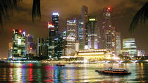 Tour serale di Singapore: Gardens By the Bay, Marina Bay Sands SkyPark e crociera sul fiume, ...