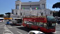 Tour hop-on hop-off di 24 o 48 ore con Colosseo salta la fila, Roma, Tour a piedi
