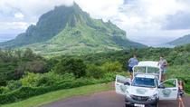 Private Morning Moorea 4WD Tour with Champagne, Moorea, 4WD, ATV & Off-Road Tours