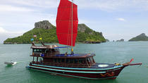 Private Charter: Red Dragon Traditional Junk Sail Yacht 75ft to Ang Thong Marine Park, Koh Samui, ...