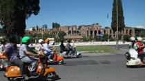 Rome Sightseeing by Vespa and Food Tasting Walking Tour, Rome, Ancient Rome Tours