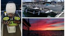 Lisbon Private Sunset Sailing Tour with Sushi Dinner, Lisbon, Sunset Cruises