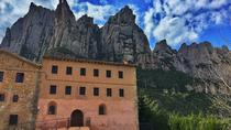 Early Access Montserrat Tour and Santa Cecilia Church with Brunch and Wine from Barcelona, ...