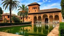 Granada Walking Tour with Alhambra Gardens from Malaga, Malaga, Skip-the-Line Tours