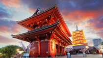 Ochtendtour van Tokio: Meiji Shrine, Senso-ji Temple en Ginza Shopping District, Tokio, Tours met bus en minivan