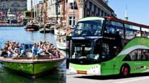 Copenhagen Hop on - Hop Off Bus, Boat & City Train Tour & Tivoli entrance, Copenhagen, Hop-on...