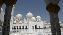 Tour Scheich Zayed Moschee und Falkenklinik in Abu Dhabi, Abu Dhabi, Full-day Tours