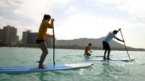 Private Group Stand-Up Paddling Lessons, Oahu, Stand Up Paddleboarding