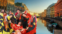 Walking City Tour with a Gypsy folklore Show, St Petersburg, City Tours