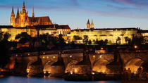 Prague Night Tour and River Vltava Dinner Cruise, Prague