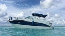 Cozumel Private Sightseeing Tour aan boord van Bayliner Luxury Boat, Cozumel, Day Cruises