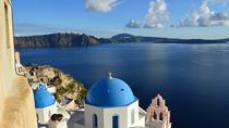 Santorini Traditional Bus Tour with Sunset in Oia, Santorini, Private Sightseeing Tours