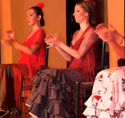 Flamenco-Vorstellung im Tablao Flamenco El Arenal in Sevilla, Sevilla