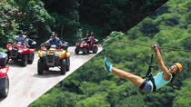 ATV-Zip Line Combo Adventure Tour from Puerto Vallarta, Puerto Vallarta, 4WD, ATV & Off-Road Tours