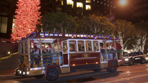 San Francisco Holiday Lights Tour mit dem Cable Car, San Francisco