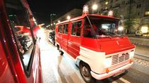 Evening Warsaw City Tour in Communist Fire Van, Warsaw