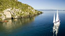 Maori Rock Carvings Sailing Trip in Taupo, タウポ