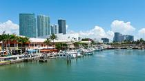 Stadstour door Miami met winkelen en optionele baaitocht, Miami