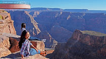 Evite as filas: Passeio expresso de helicóptero para o Skywalk do Grand Canyon, Las Vegas, ...