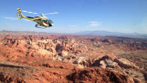 VIP luksustur med helikopter til Grand Canyon West Rim og Valley of Fire, Las Vegas, Helicopter ...