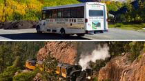 Bus to Silverton and Train to Durango Full Day Experience, Durango