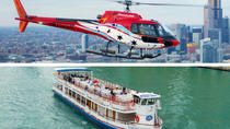 Architectural River Cruise and Chicago Helicopter Tour, Chicago