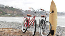 Surf Lesson plus Bike Rental in Lima, リマ
