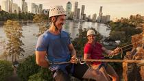 Abseiling the Kangaroo Point Cliffs in Brisbane, Brisbane, Climbing
