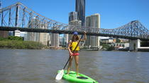 Stand-up paddle sur le fleuve Brisbane, Brisbane, Stand Up Paddleboarding