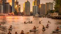 Sunday Sunset Kayak Tour with Dips and Drinks, Brisbane, Kayaking & Canoeing