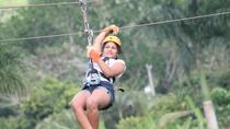 Half-Day Zip Line Adventure from Punta Cana, Punta Cana, Ziplines