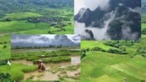2 Days Vangvieng tour by public minivan (No meal), Vang Vieng, Bus & Minivan Tours